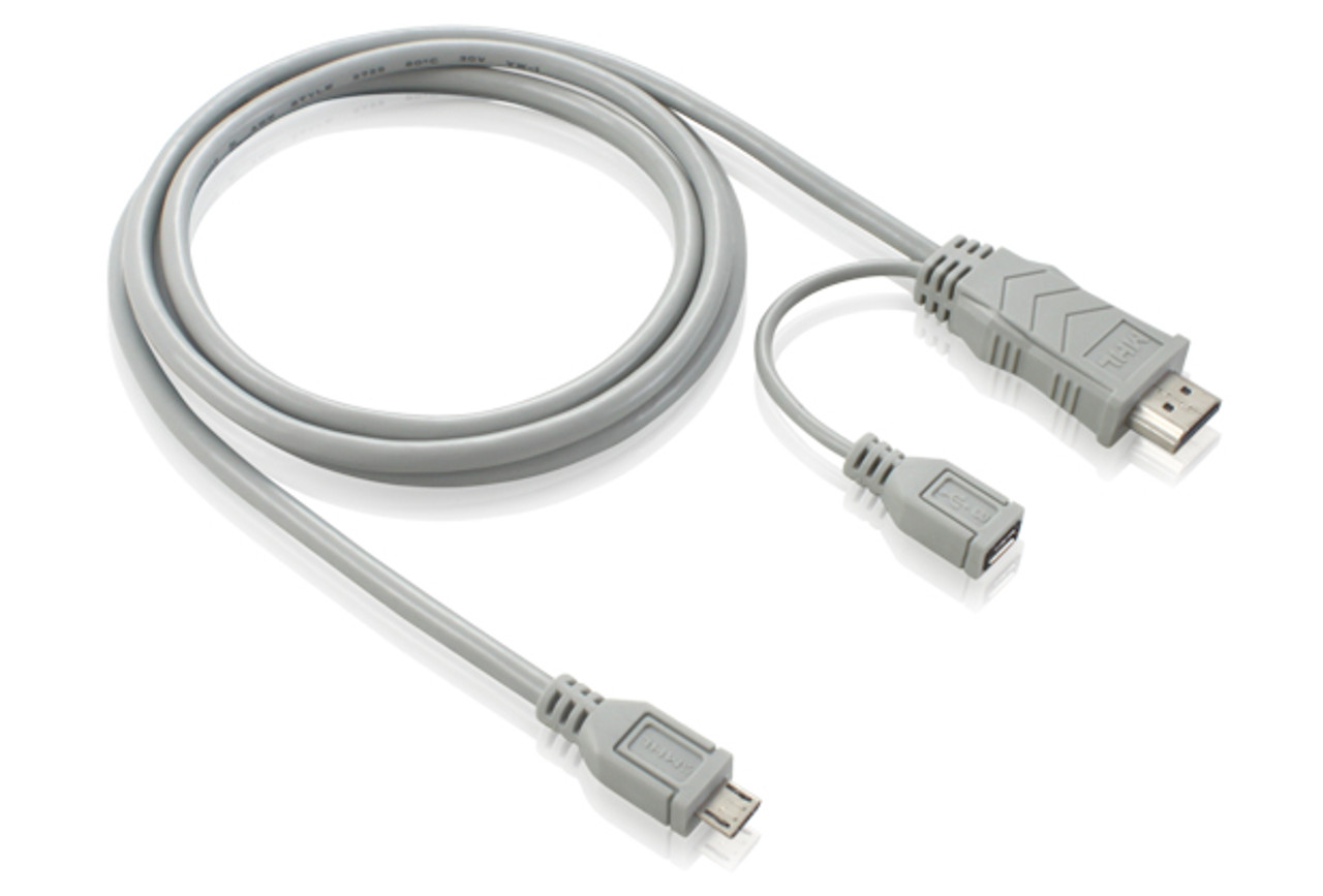 Product image for 3M Micro USB to HDMI Male MHL Adapter Cable | CX Computer Superstore