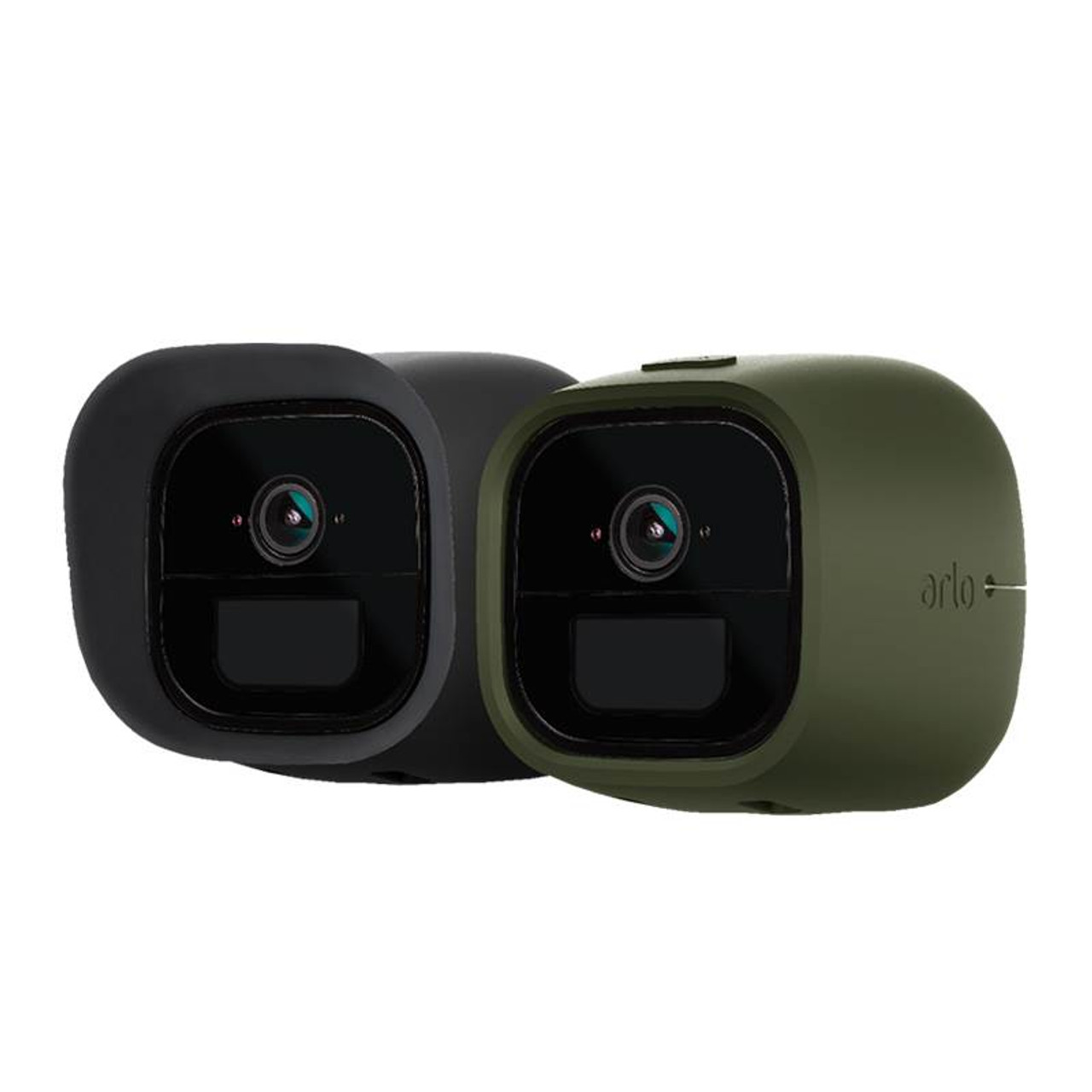 Image for Arlo Go Silicone Skins - Green and Black Set of 2 CX Computer Superstore