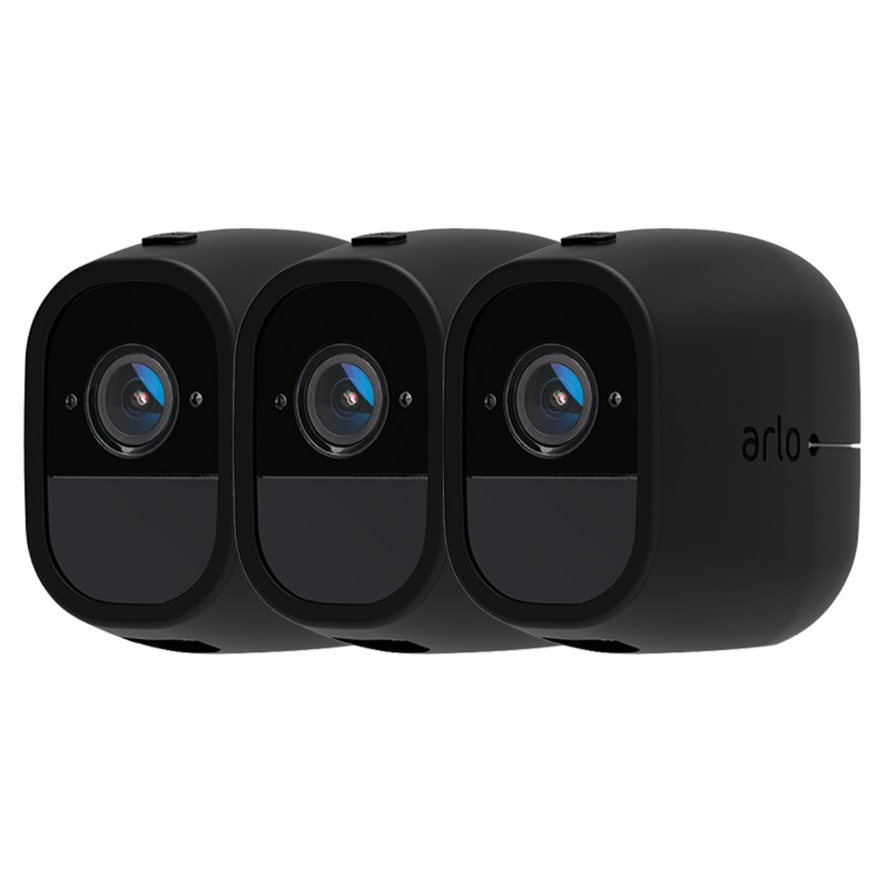 Image for Arlo Pro/Pro 2 Security Black Camera Skin - 3 Pack CX Computer Superstore