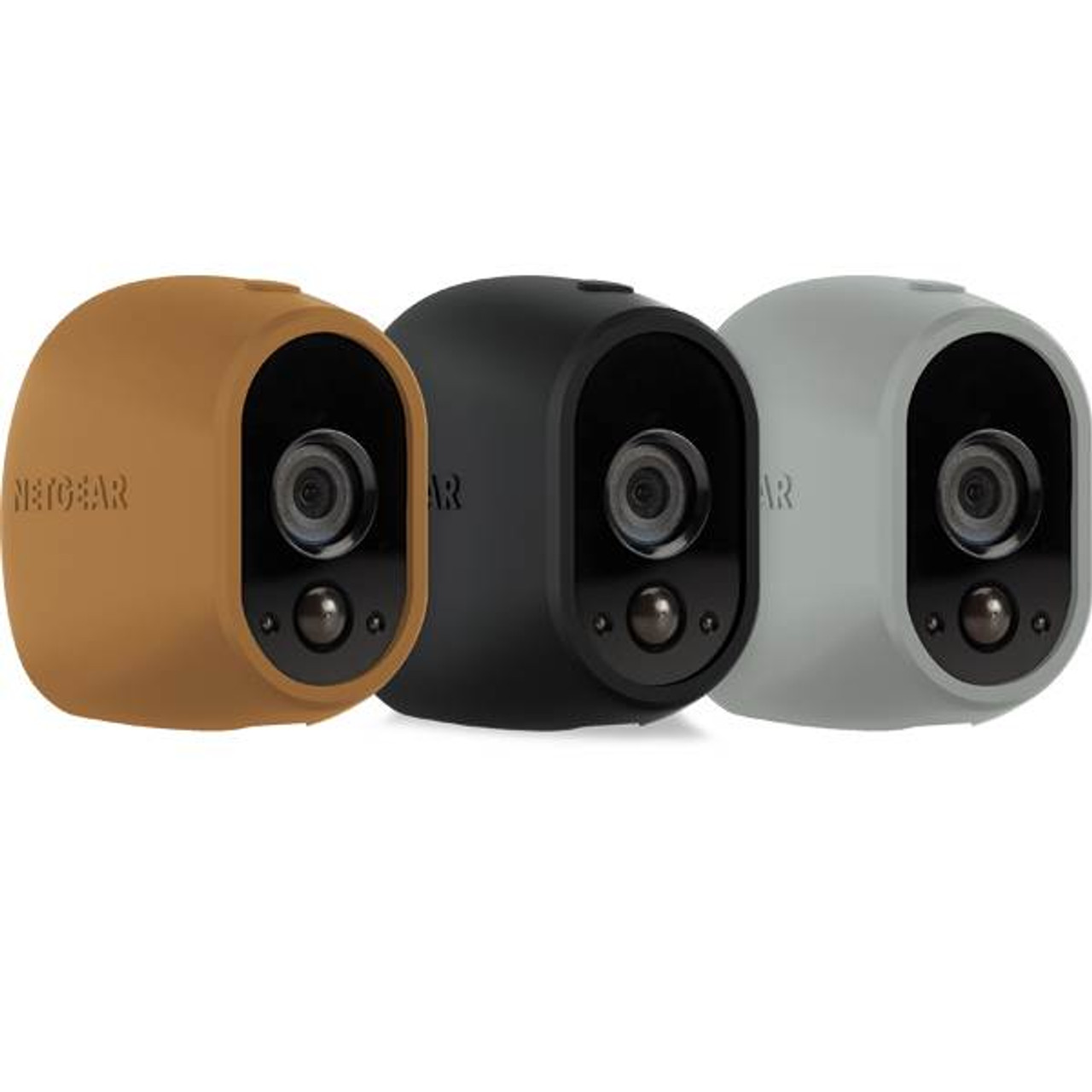 Image for Arlo Replaceable Multi-colored Silicone Skins - Brown/Black/Grey CX Computer Superstore