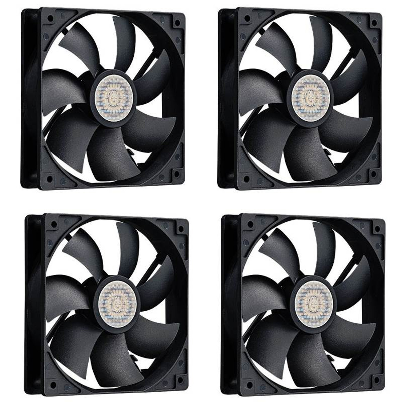 Image for Cooler Master 120mm Case Fans 4-Pack CX Computer Superstore