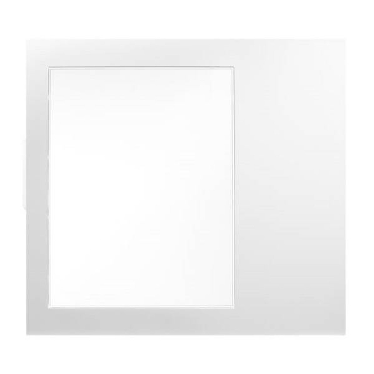Image for BitFenix Comrade & Neos Chassis Window Side Panel - White CX Computer Superstore