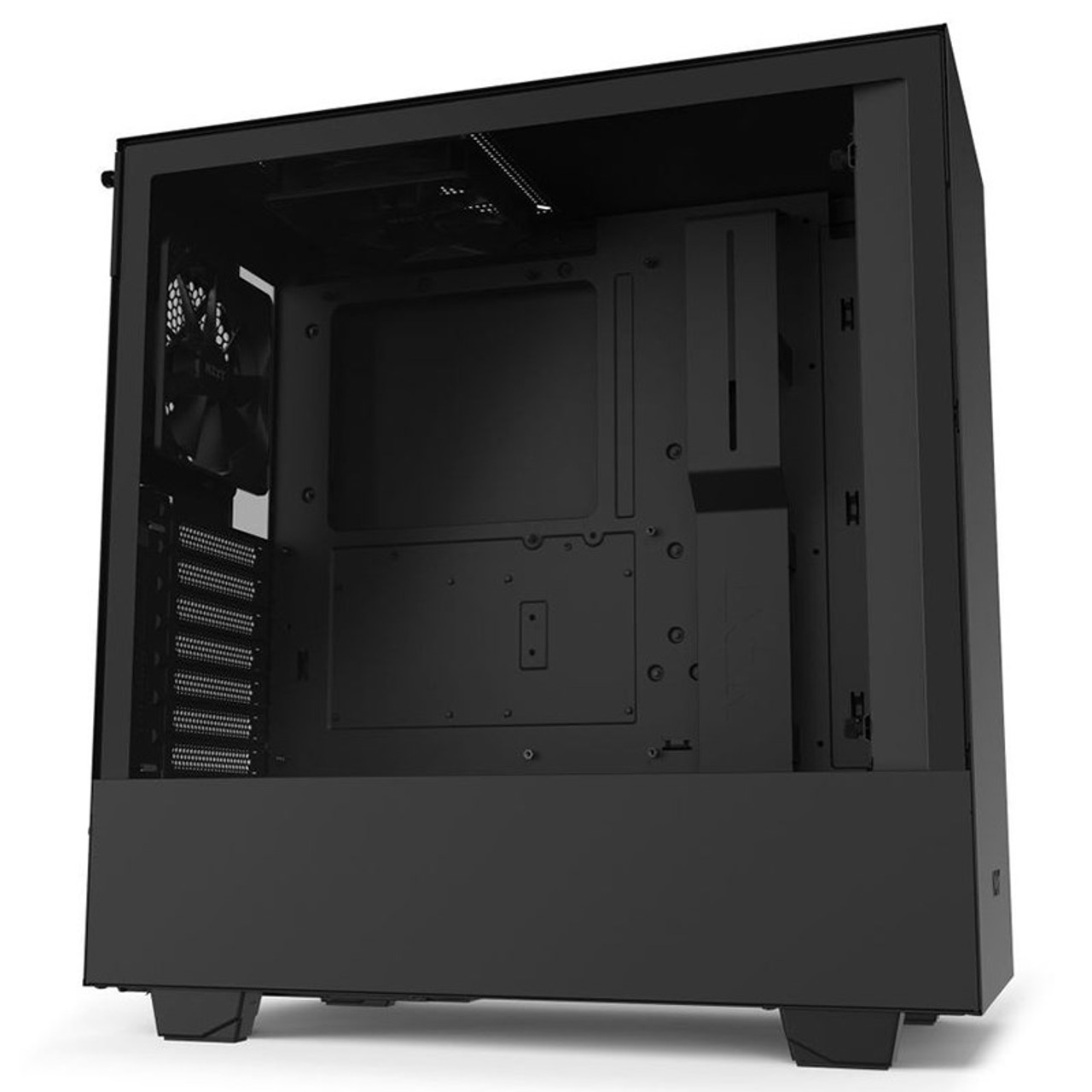 Image for NZXT H510 Tempered Glass Mid-Tower ATX Case - Matte Black CX Computer Superstore