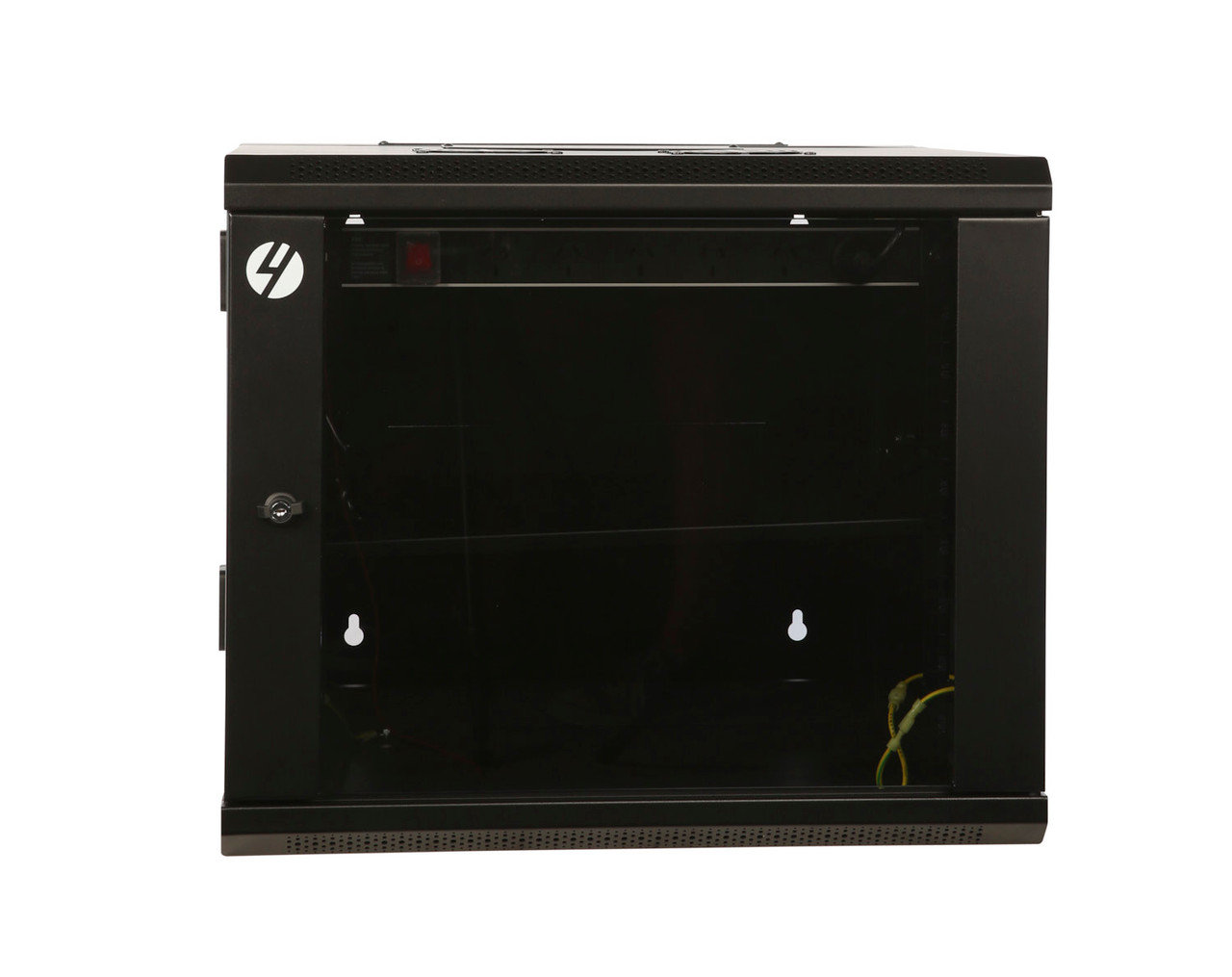 Image for 4Cabling 9RU W600mm x D600mm Hinged Wall Mount Server Rack CX Computer Superstore