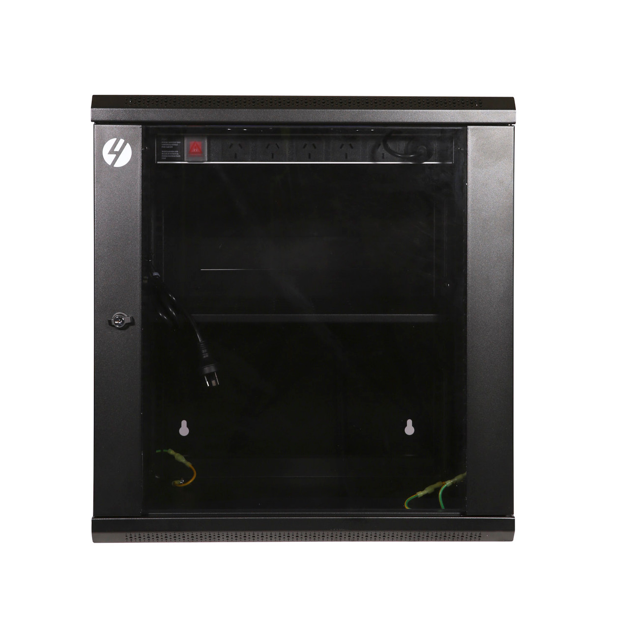 Image for 4Cabling 12RU W600mm x D600mm Hinged Wall Mount Server Rack CX Computer Superstore