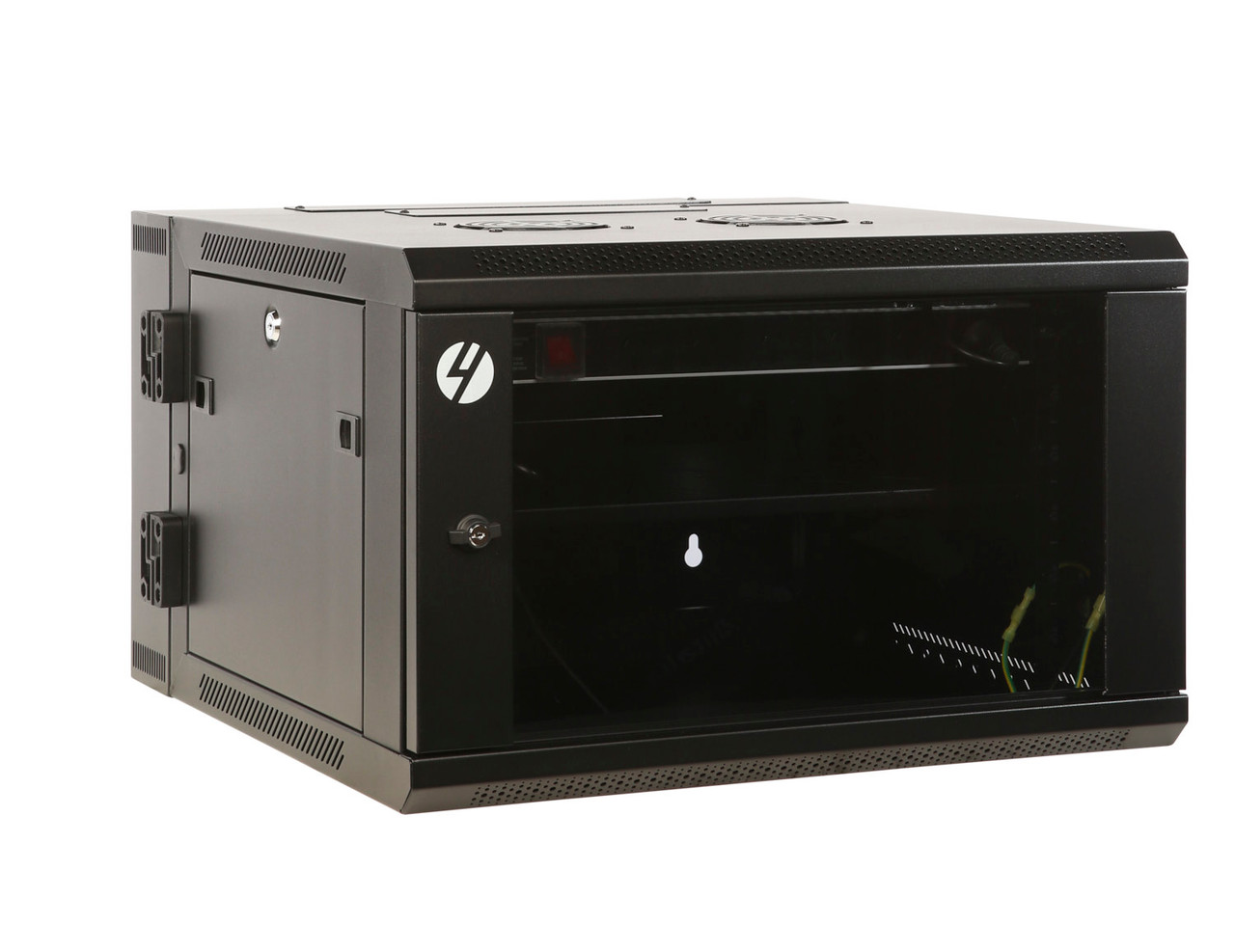 Image for 4Cabling 6RU W600mm x D600mm Hinged Wall Mount Server Rack CX Computer Superstore