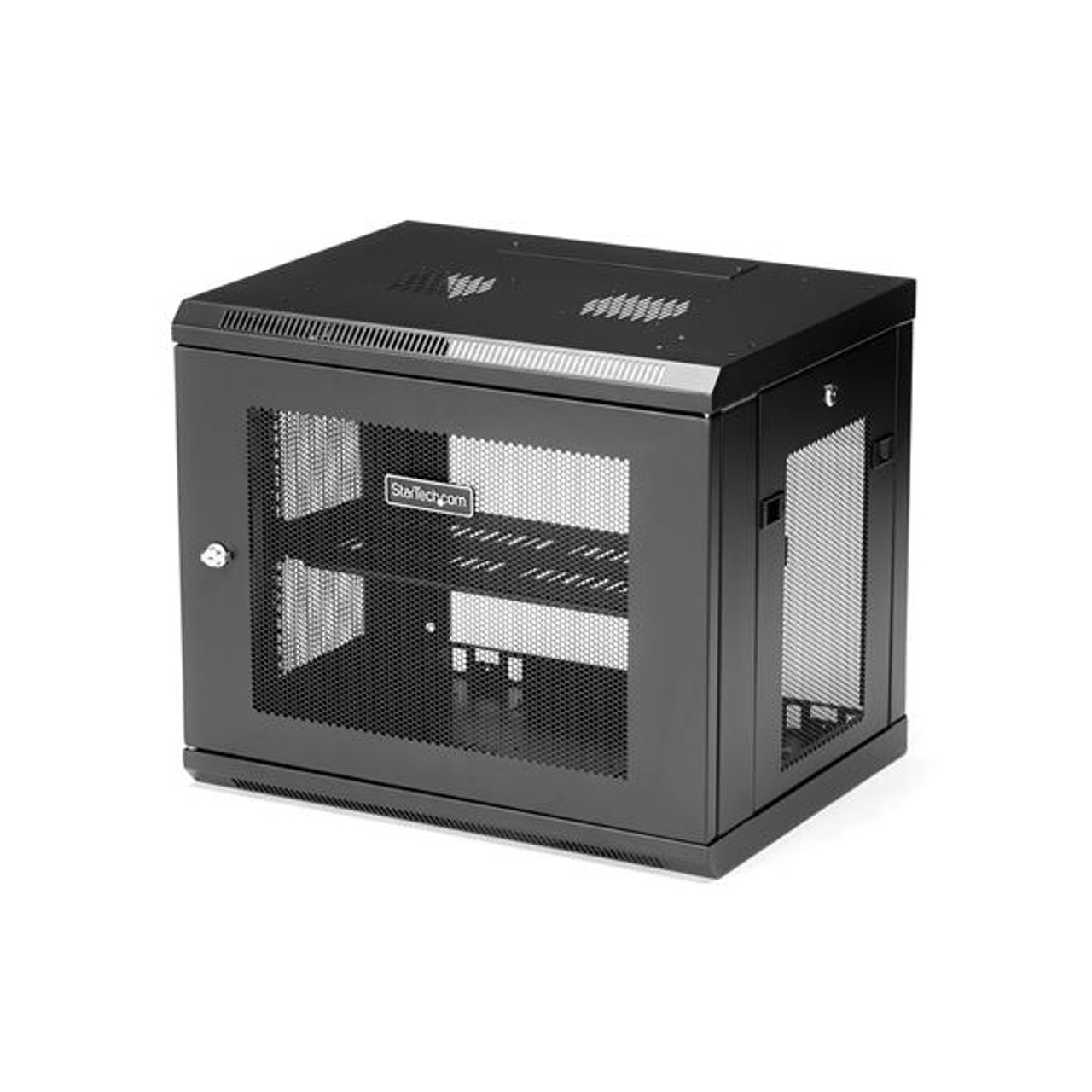 Image for StarTech 9U Wall Mount Rack - Wall Mount Server and Network Cabinet CX Computer Superstore