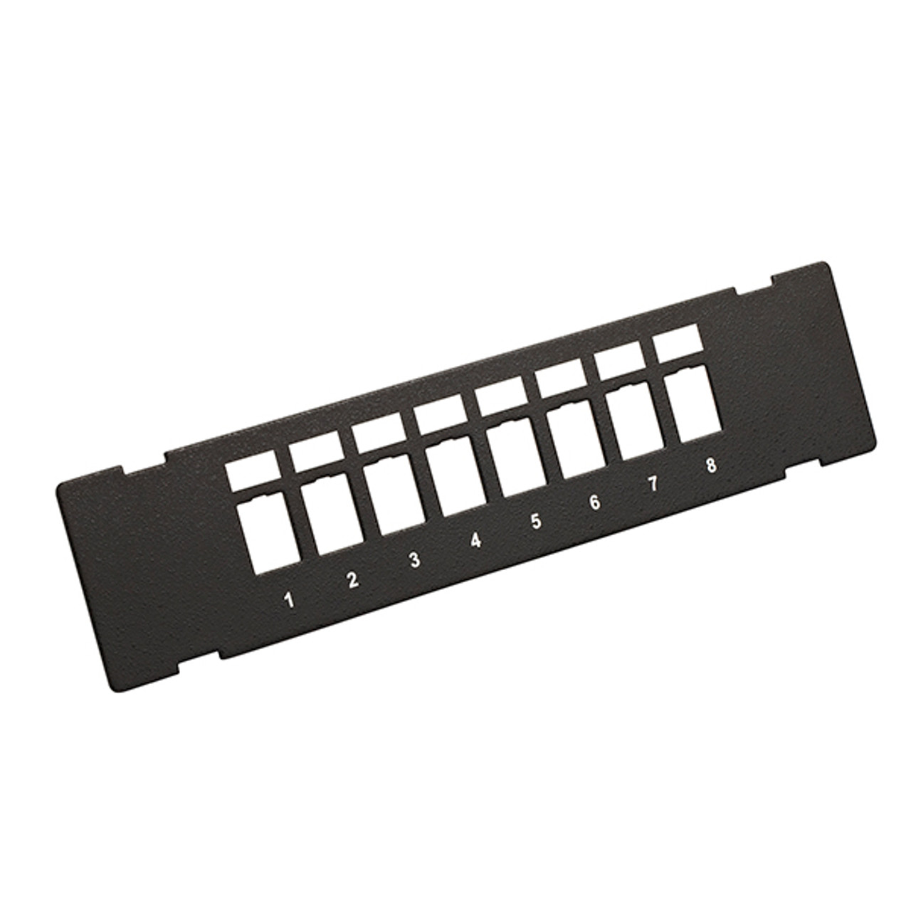 Image for 4Cabling 8 Port Unloaded Wall Mount Patch Panel CX Computer Superstore