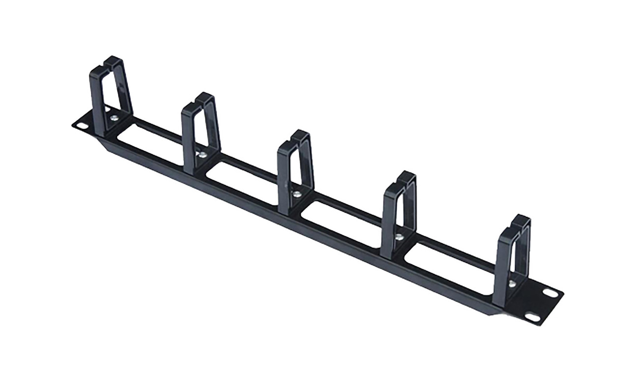 Image for 1RU Cable Management Rail - 5 Plastic Ring CX Computer Superstore