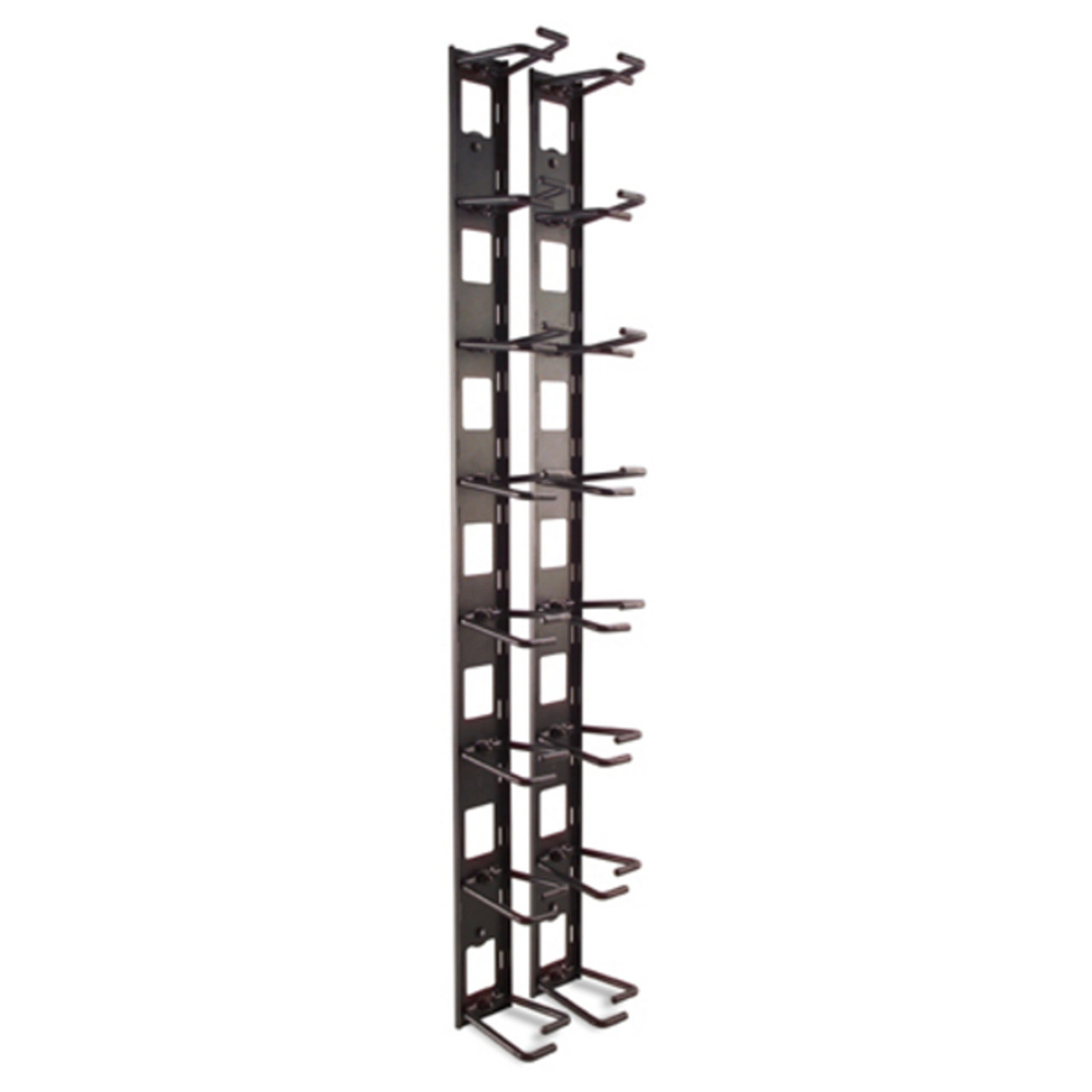 Image for APC AR8442 Vertical Cable Organizer, 8 Cable Rings, Zero U CX Computer Superstore