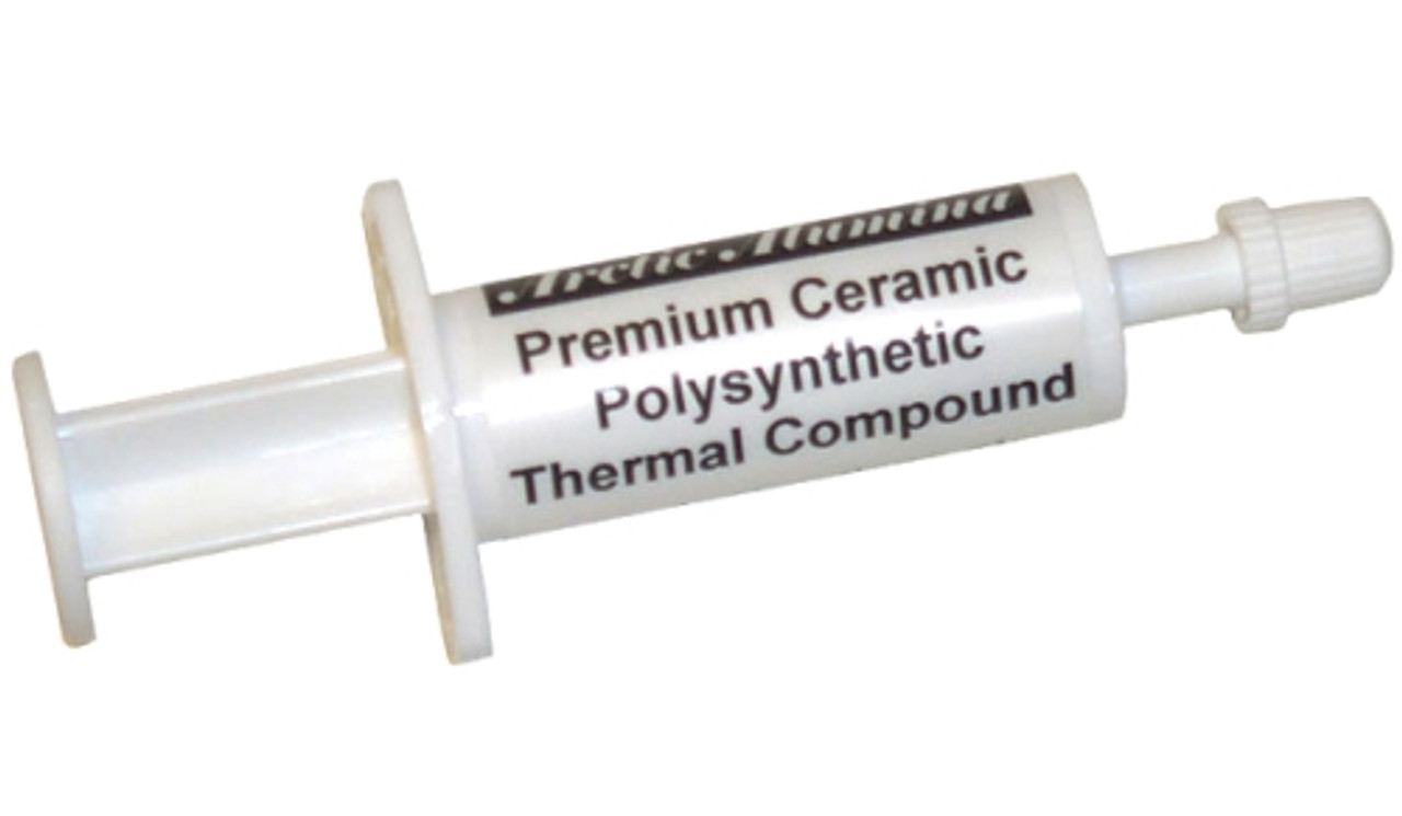 Product image for Arctic Silver Alumina Thermal Compound 1.75g Tube | CX Computer Superstore