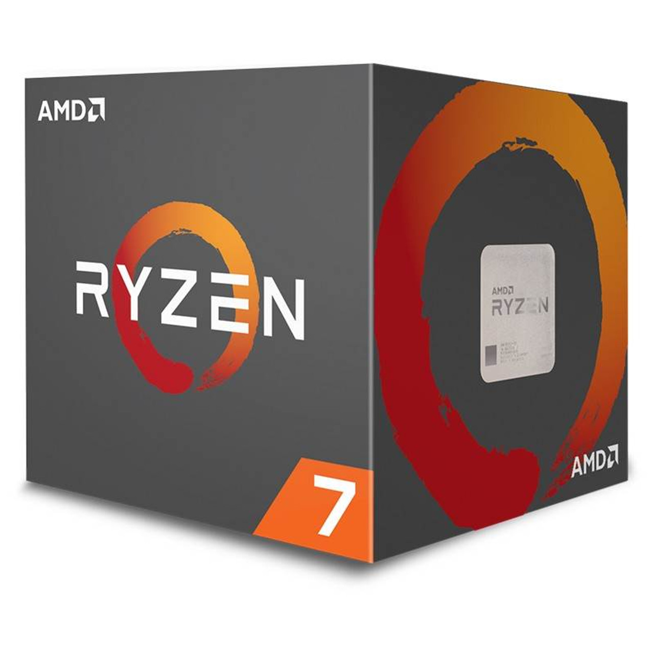 Product image for AMD Ryzen 7 2700X with Wraith Prism | CX Computer Superstore