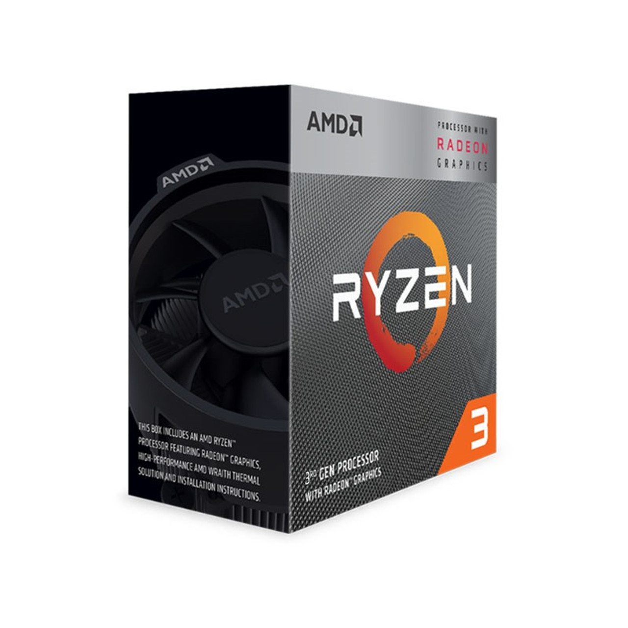 Product image for AMD Ryzen 3 3200G APU with Vega 8 Graphics | CX Computer Superstore
