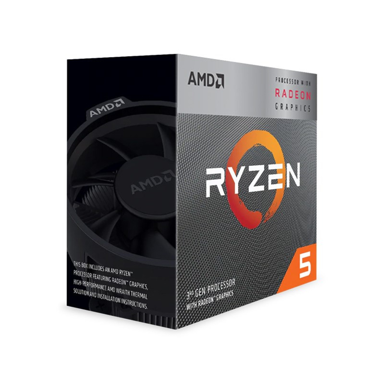 Product image for AMD Ryzen 5 3400G APU with Vega 11 Graphics | CX Computer Superstore