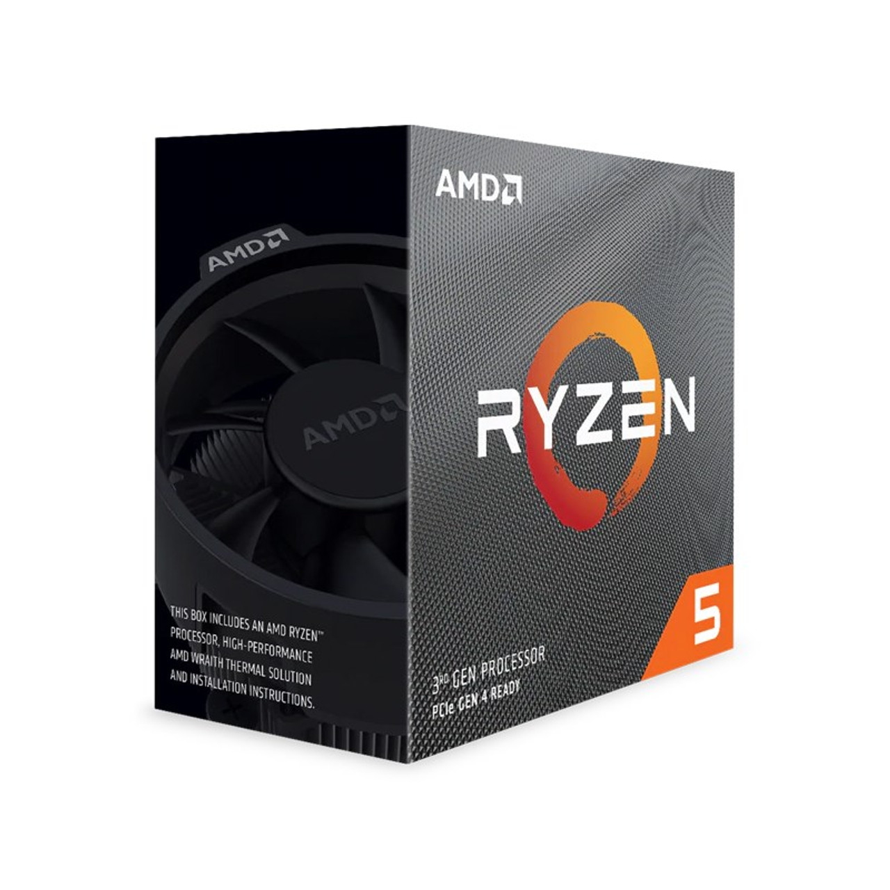 Image for AMD Ryzen 5 3600 6 Core Socket AM4 3.6GHz CPU Processor + Wraith Stealth Cooler CX Computer Superstore