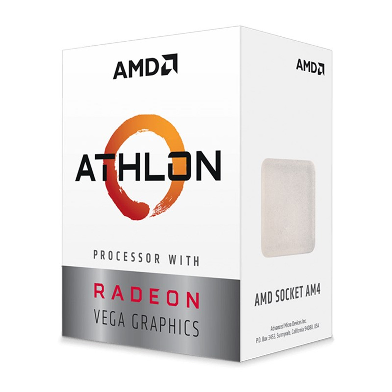Image for AMD Athlon 3000G 2-Core AM4 3.50 GHz CPU Processor with Radeon Vega 3 Graphics CX Computer Superstore
