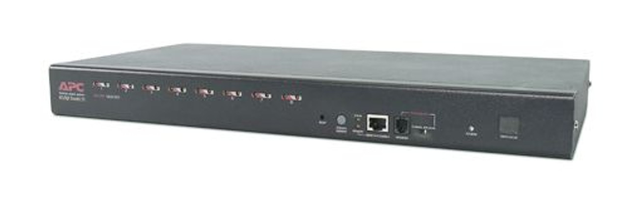 Image for APC 8 Port Multi-Platform Analog KVM - KVM switch - PS/2 - 8 ports - 1 local use CX Computer Superstore