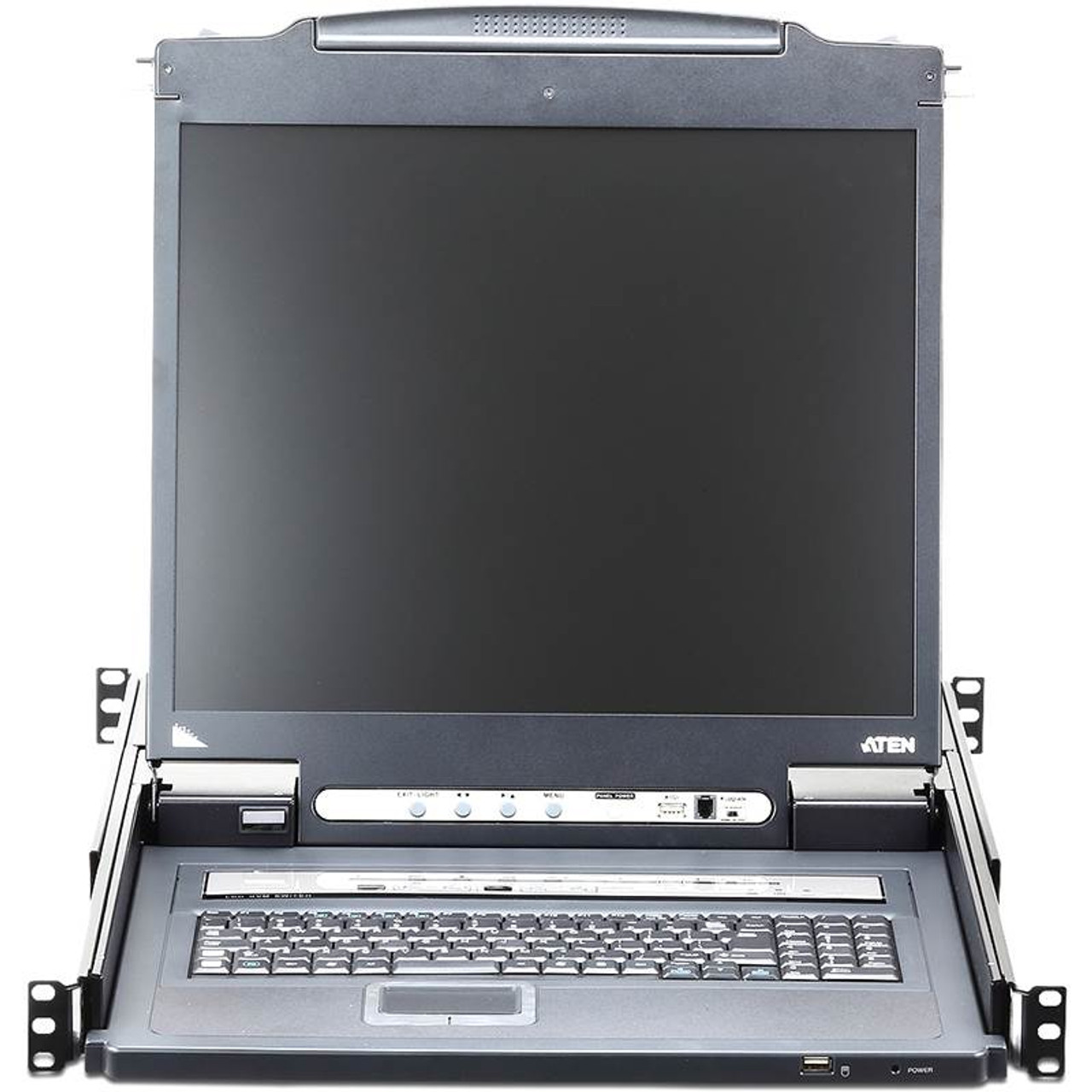 Image for ATEN 19in Slideaway 8-Port LCD KVM Switch CX Computer Superstore