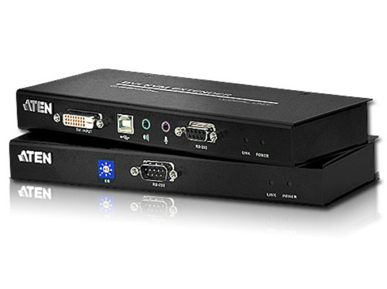 Image for ATEN CE602 USB DVI Dual Link Cat5 KVM Extender with Audio - 1024x768 at 60m CX Computer Superstore