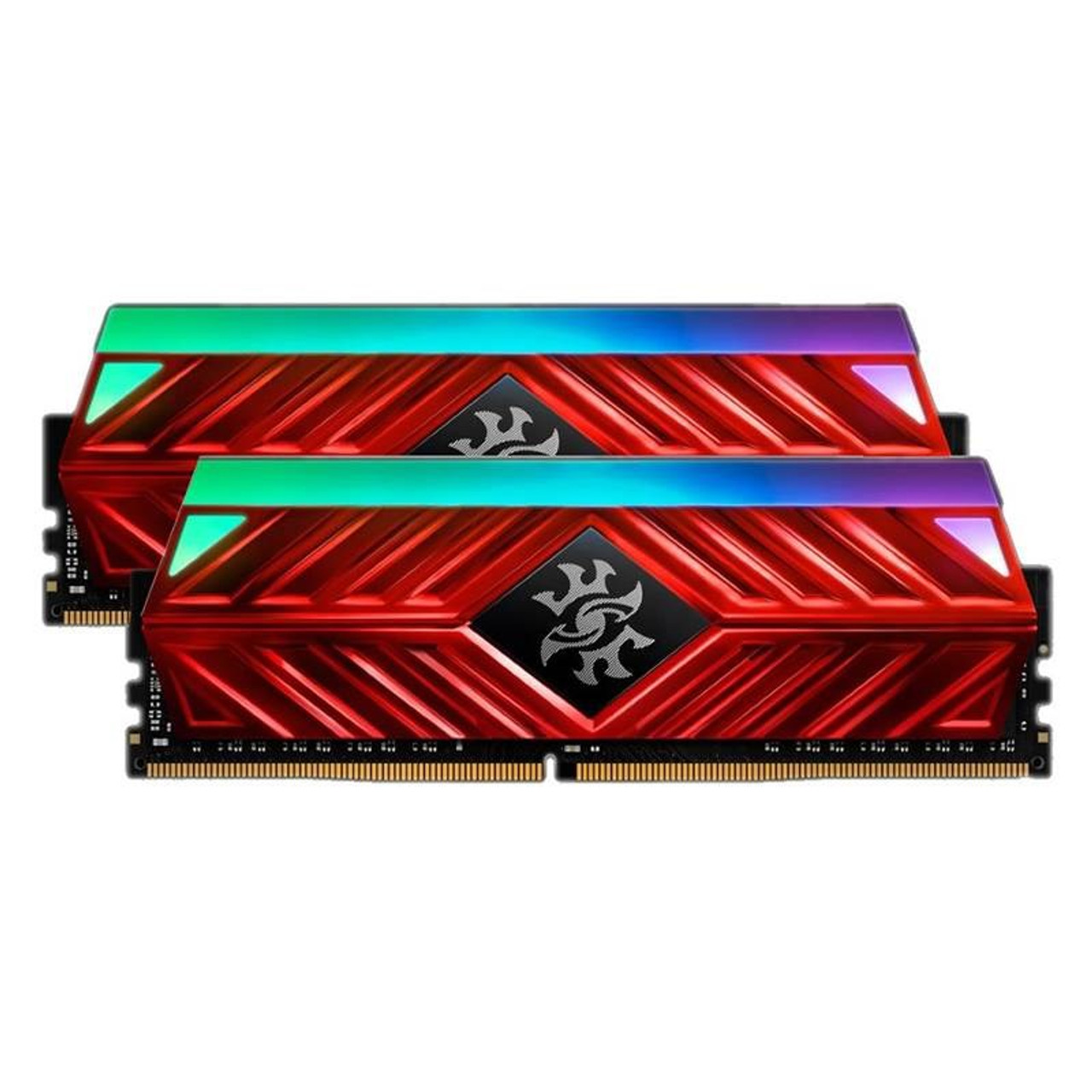 Image for Adata XPG Spectrix D41 16GB (2x8GB) DDR4 3200MHz RGB Memory - Crimson Red CX Computer Superstore