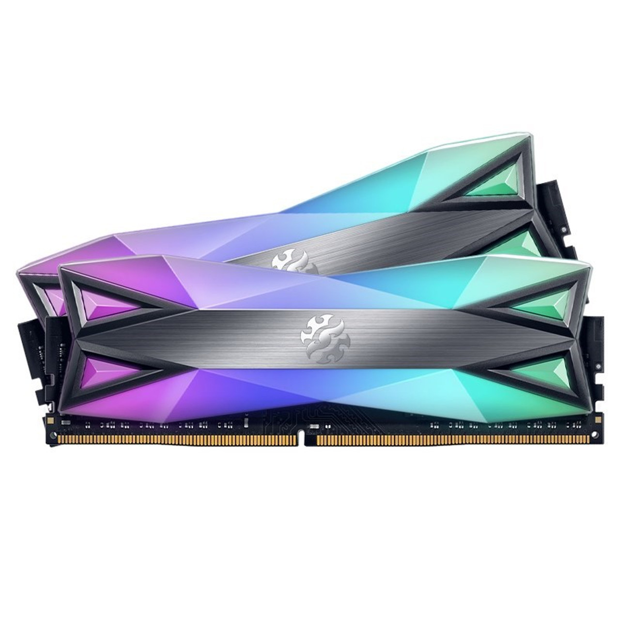 Image for Adata XPG Spectrix D60G 32GB (2x 16GB) DDR4 3600MHz RGB Memory CX Computer Superstore