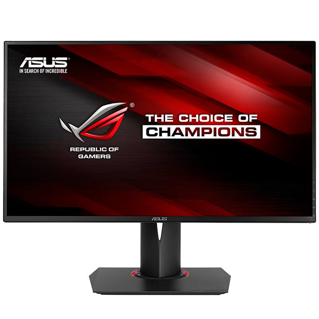 Image for Asus ROG Swift PG27AQ 27in 4K UHD IPS G-Sync 60Hz Gaming Monitor CX Computer Superstore