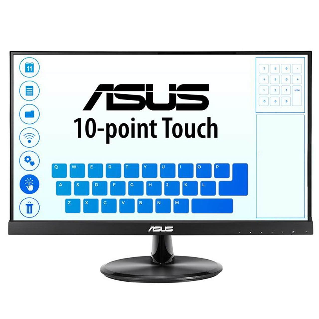 Image for Asus VT229H 21.5in Full HD 10 Point Multi-Touch IPS Monitor CX Computer Superstore