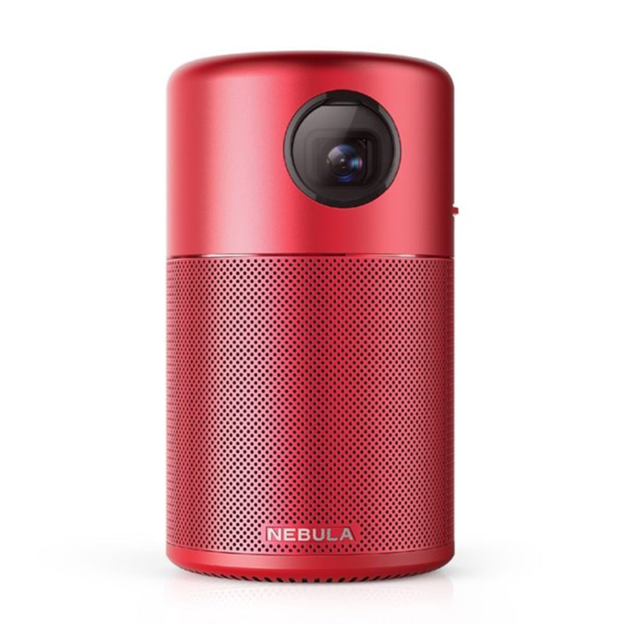 Image for Anker Nebula Capsule FWVGA Portable Wireless DLP Projector - Limited Red Edition CX Computer Superstore
