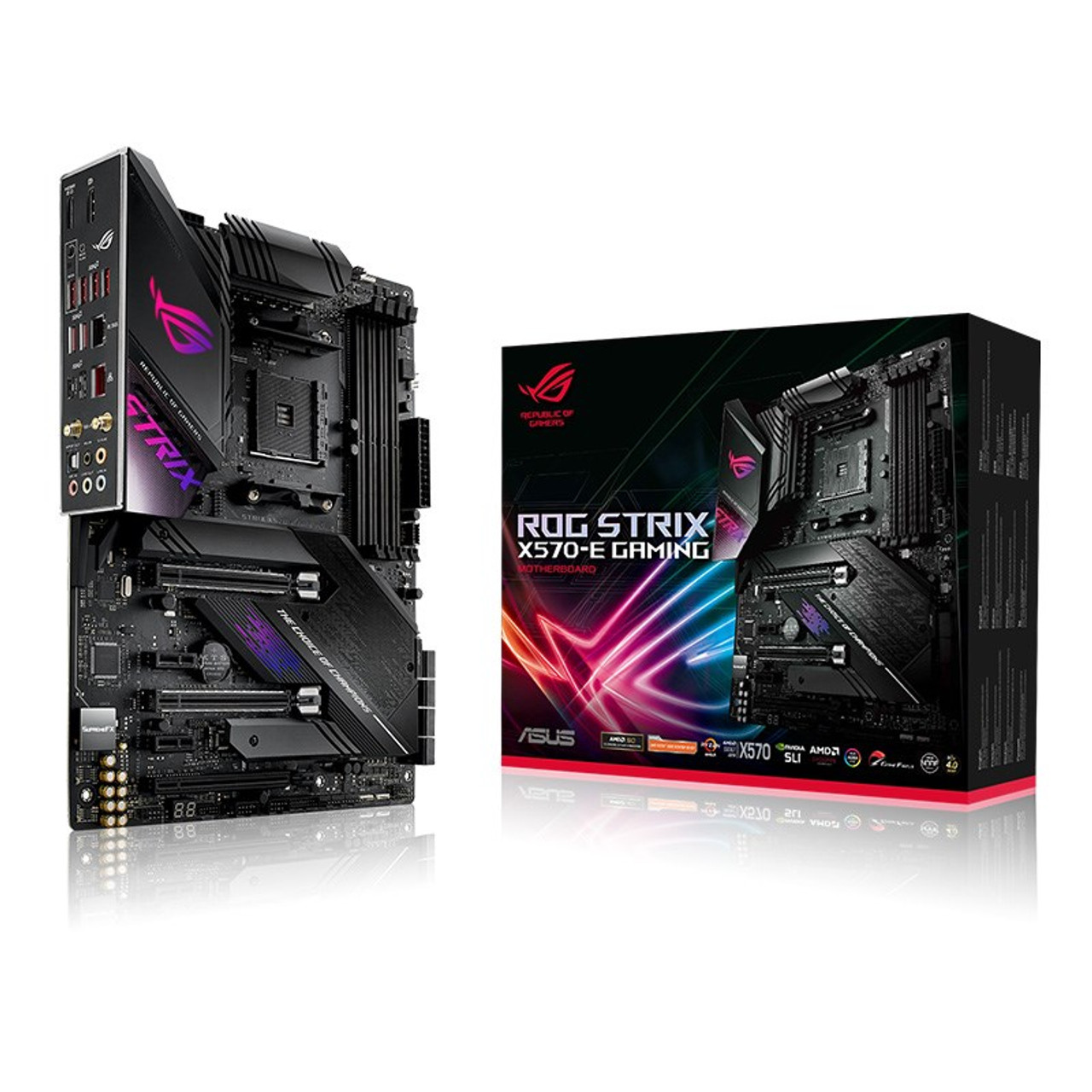 Product image for Asus ROG Strix X570-E Gaming Motherboard | CX Computer Superstore