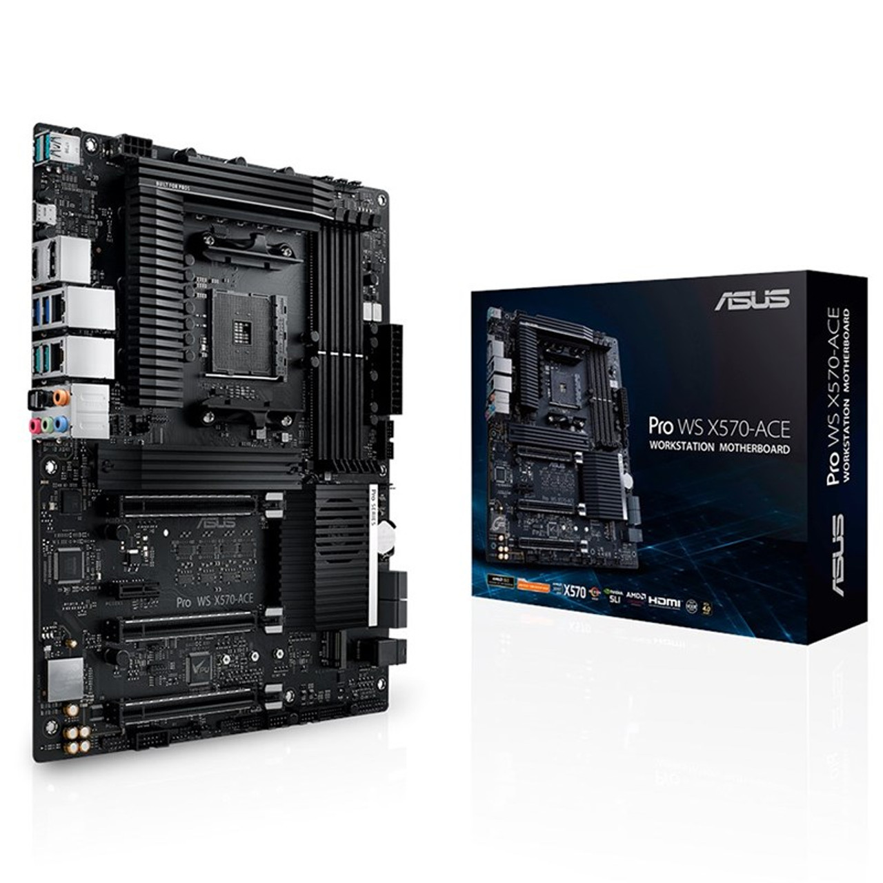 Product image for Asus X570 ACE Pro WS Motherboard | CX Computer Superstore