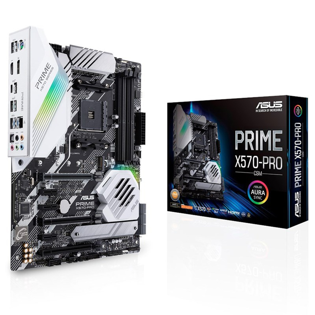 Image for Asus PRIME X570-PRO/CSM AM4 ATX Motherboard CX Computer Superstore