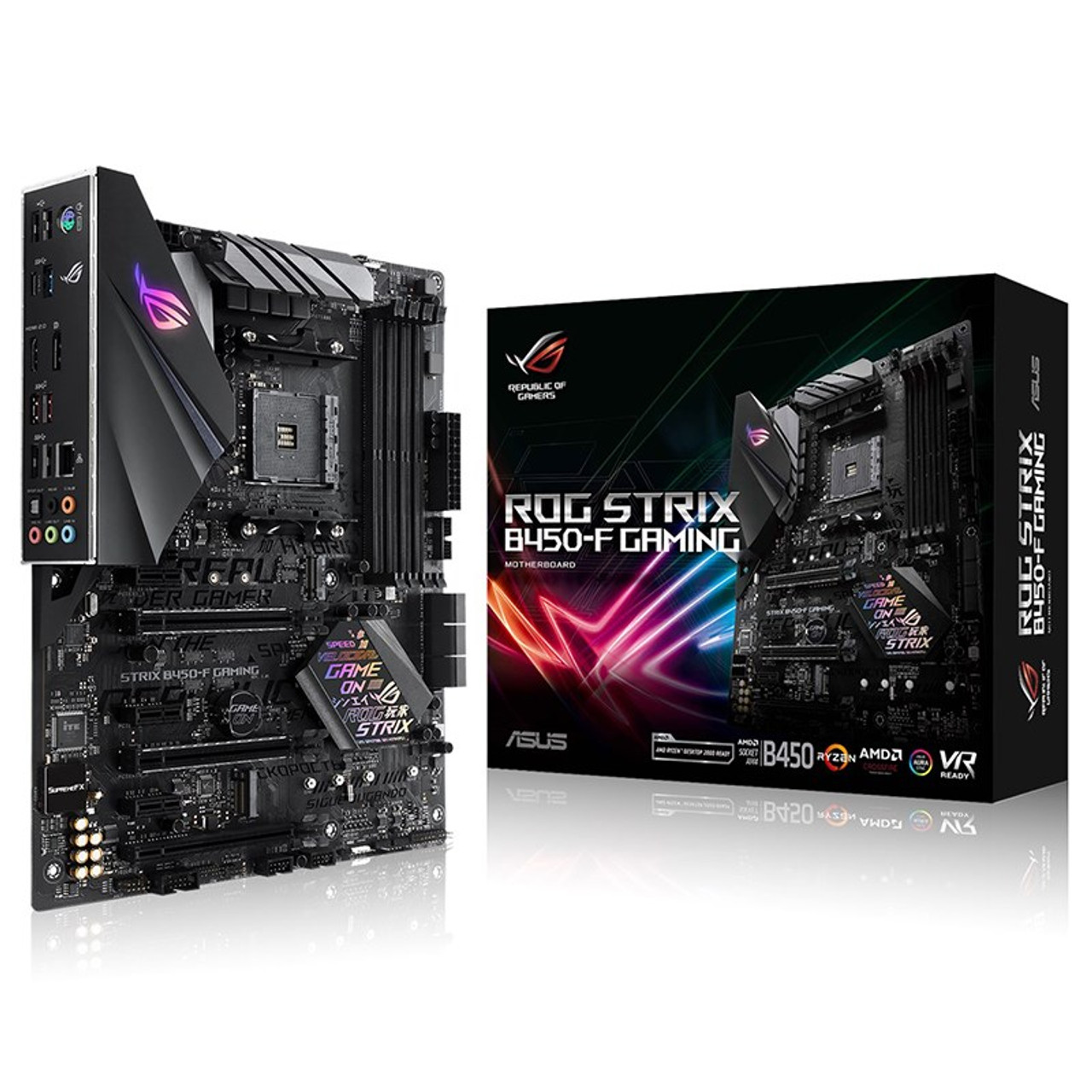 Image for Asus ROG Strix B450-F GAMING AM4 ATX Motherboard CX Computer Superstore