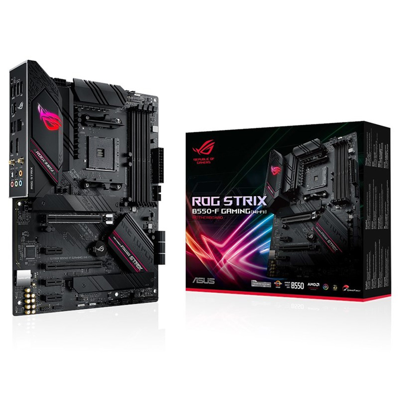 Image for Asus ROG STRIX B550-F GAMING WIFI AM4 ATX Motherboard CX Computer Superstore