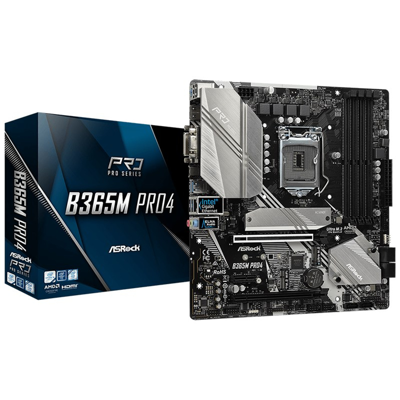 Image for ASRock B365M Pro4 LGA 1151 M-ATX Motherboard CX Computer Superstore