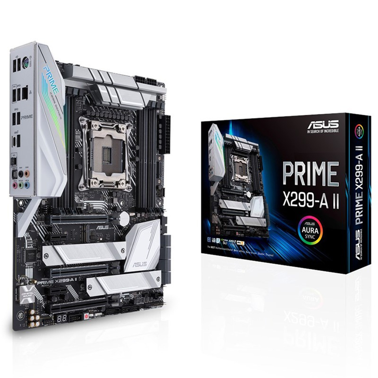 Image for Asus Prime X299-A II LGA 2066 ATX Motherboard CX Computer Superstore