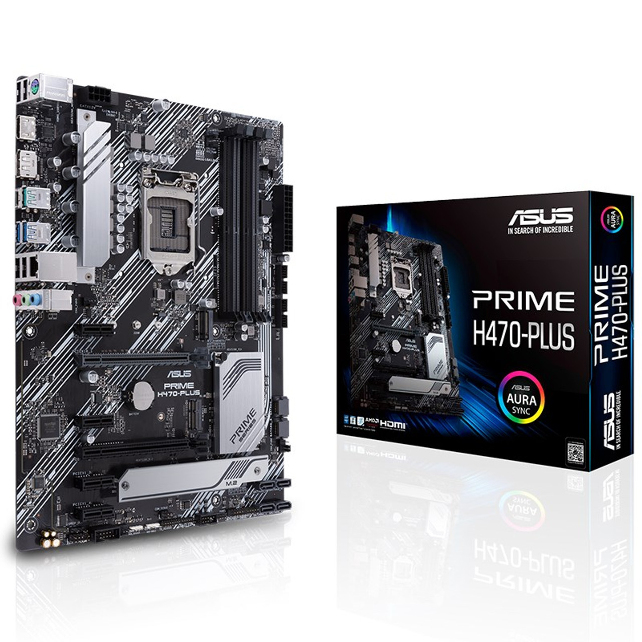 Image for Asus Prime H470-PLUS LGA 1200 ATX Motherboard CX Computer Superstore
