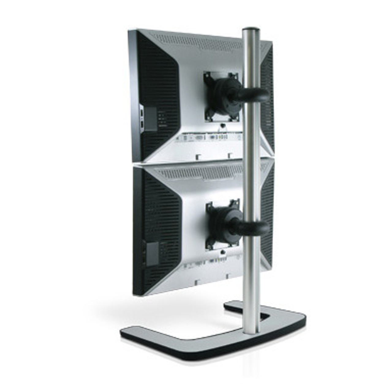 Product image for Atdec Visidec Freestanding Dual Monitor Vertical Stand | CX Computer Superstore
