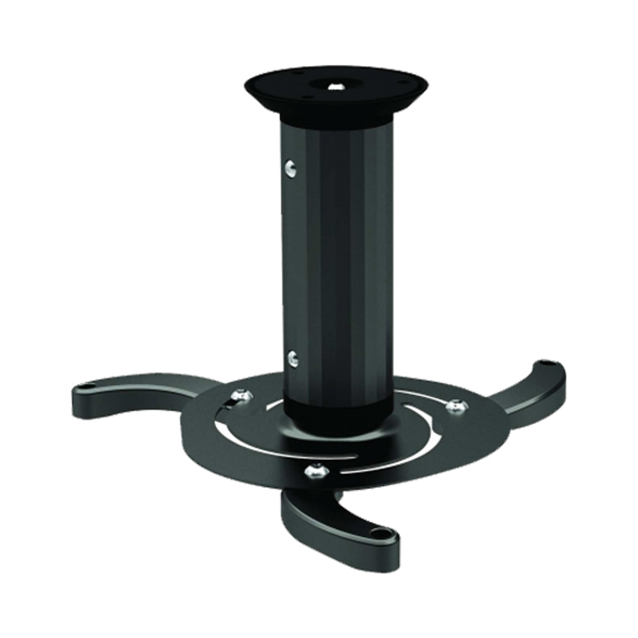 Image for 4Cabling Ceiling Mount Projector Bracket Up to 10 kg Black CX Computer Superstore
