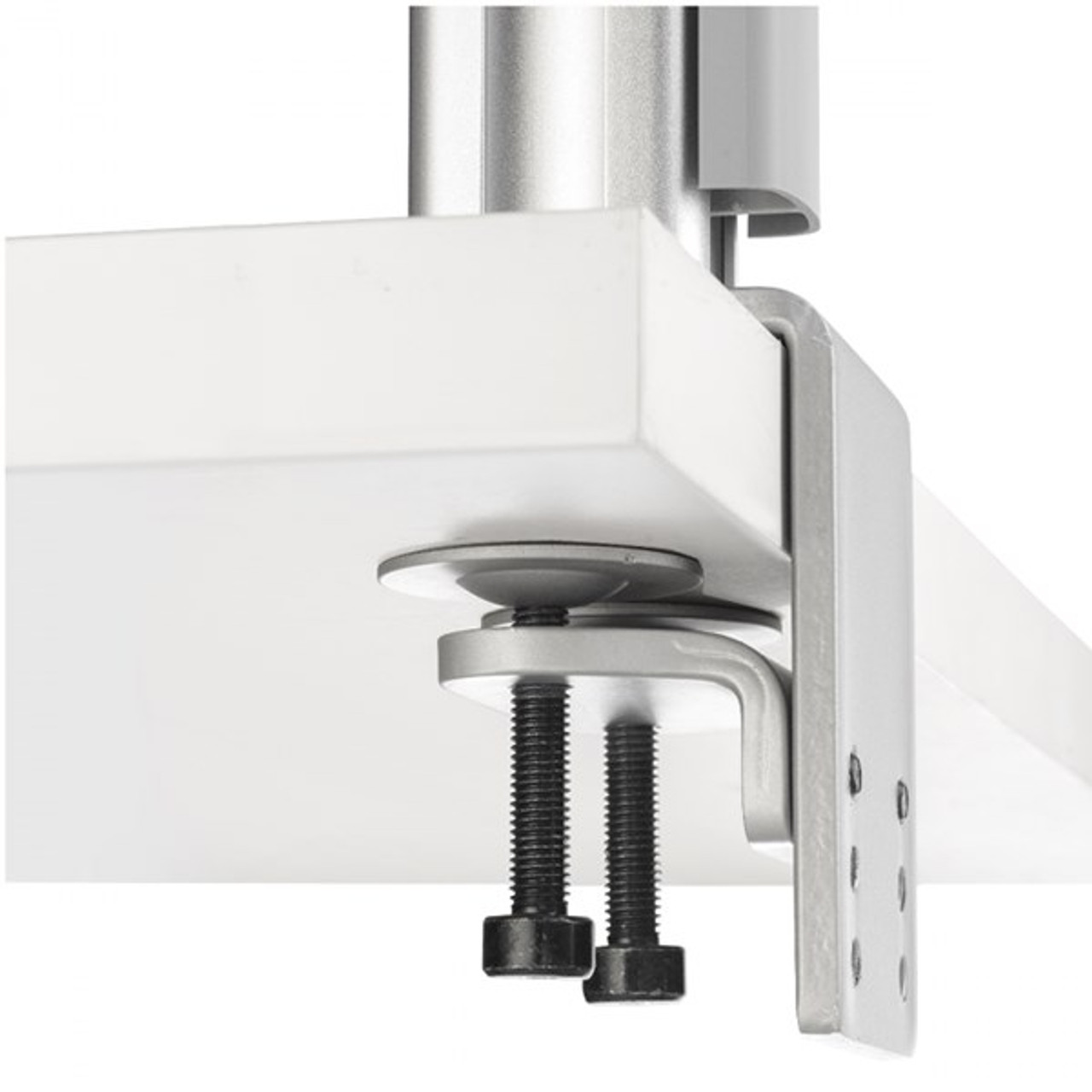 Image for Atdec AWM-FH Heavy Duty F-Clamp Desk Mount - Silver CX Computer Superstore