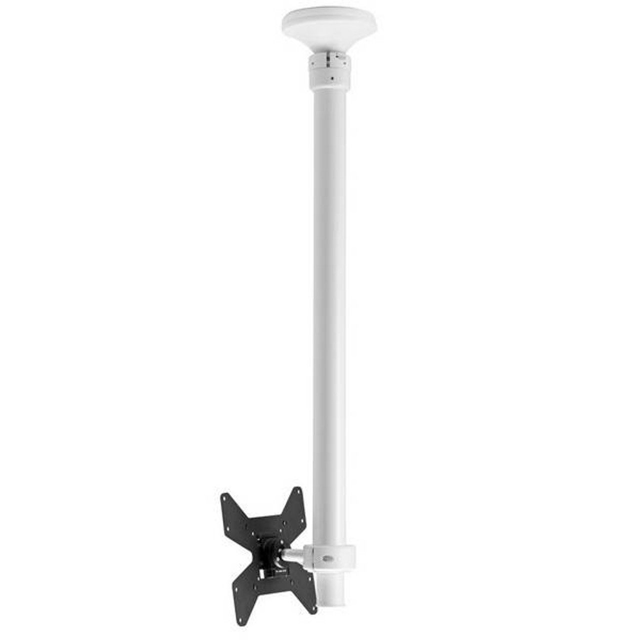 Image for Atdec TH-1040-CTS Telehook LCD Ceiling Mount for10in-40in	- WHITE CX Computer Superstore