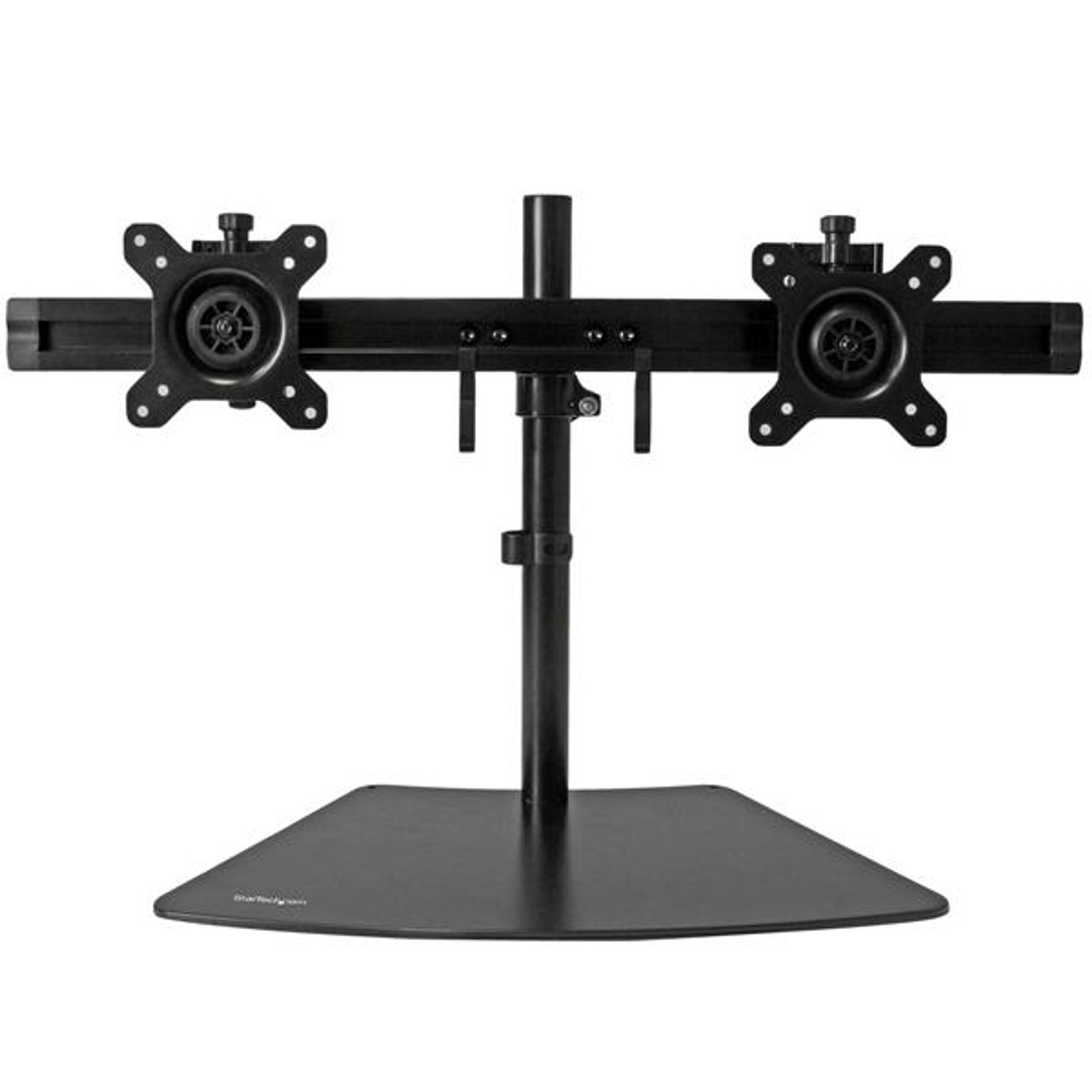 Image for StarTech Dual-Monitor Stand - Horizontal - Black - Adjustable CX Computer Superstore
