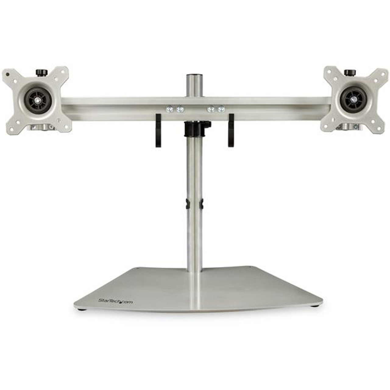 Image for StarTech Dual-Monitor Stand - Horizontal - Silver - Adjustable CX Computer Superstore
