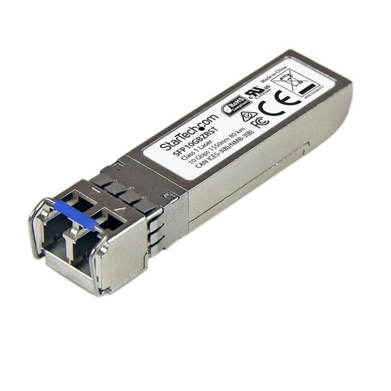 Image for StarTech 10GBase-ZR SFP+ - MSA Compliant - 10G SFP+ - SM 80km/49.7mi CX Computer Superstore