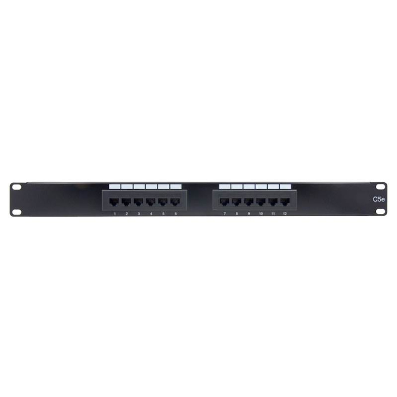 Image for Alogic 12 Port 1RU CAT5e Patch Panel CX Computer Superstore