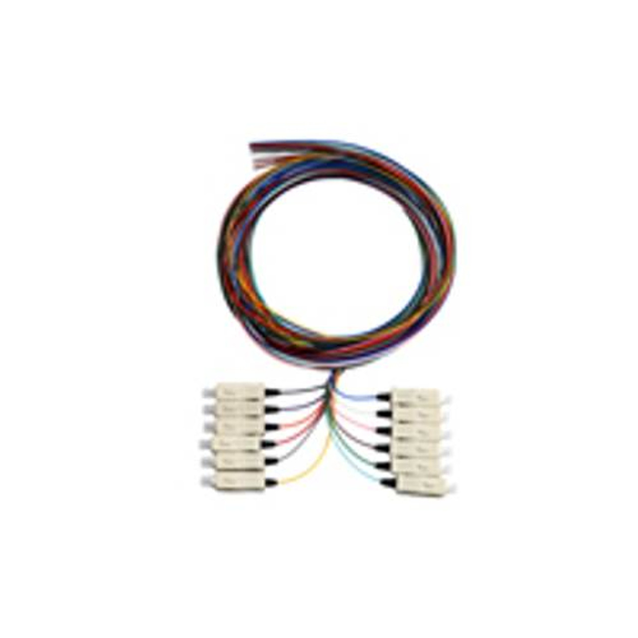 Image for Alogic 2m SC/APC Single Mode OS1 Pigtail 12 Pack Colour Coded CX Computer Superstore