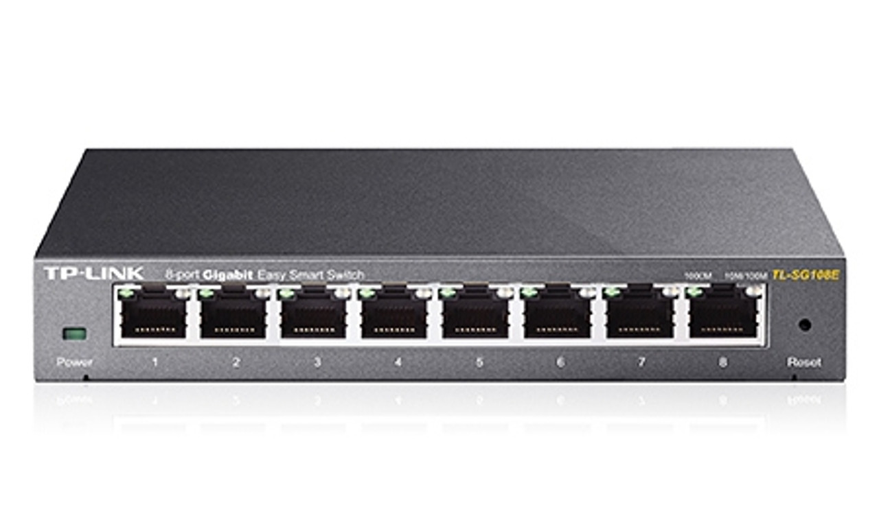Product image for TP-Link 8-Port Gigabit Easy Smart Switch | CX Computer Superstore
