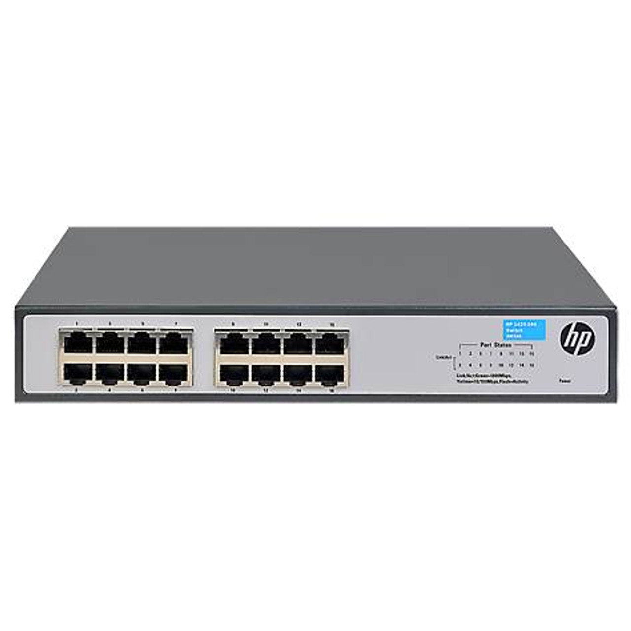 Image for HPE Aruba OfficeConnect 1420-16G 16-port Gigabit Unmanaged Switch - JH016A CX Computer Superstore