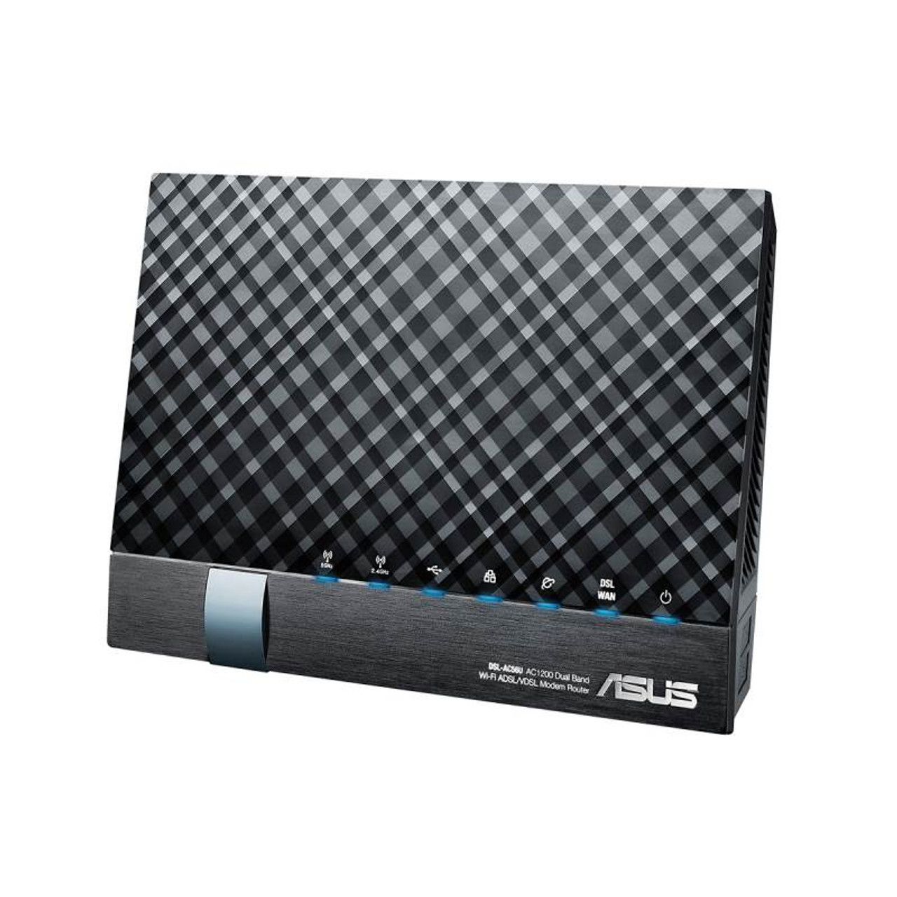 Product image for Asus DSL-AC56U AC1200 Dual Band 802.11ac VDSL/ADSL Wireless Modem Router - NBN | CX Computer Superstore