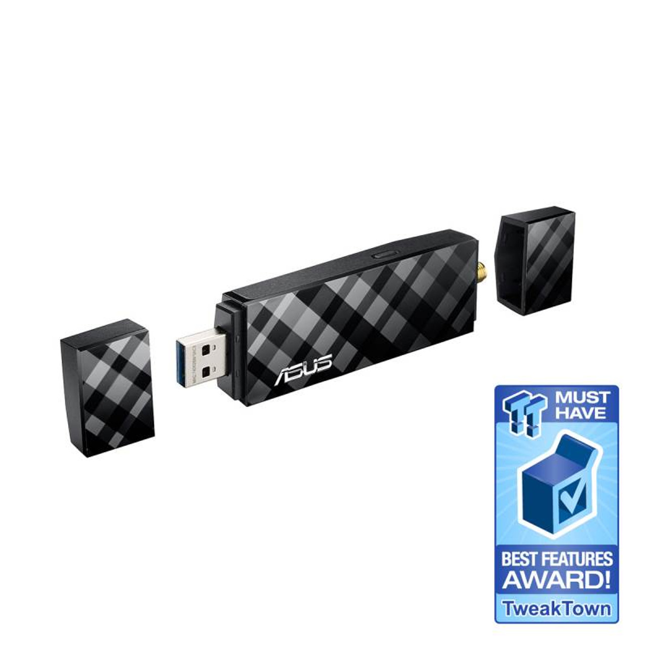 Image for Asus USB-AC56 Dual-band Wireless-AC1300 USB 3.0 Wi-Fi Adapter CX Computer Superstore