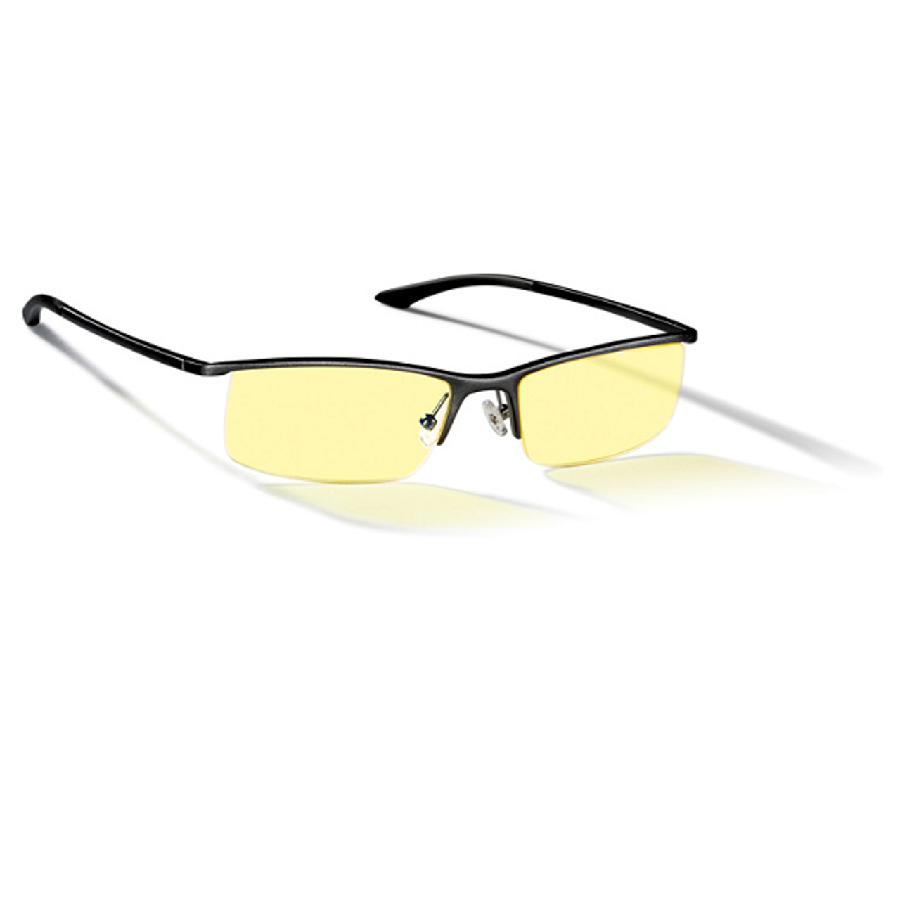 Product image for Gunnar Emissary Amber Onyx Indoor Digital Eyewear | CX Computer Superstore